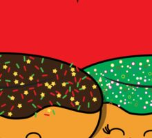 Donut Couple Sticker