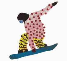 Snowboarder by Louise Norman