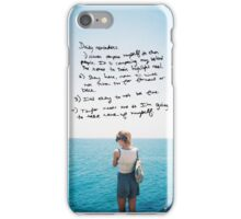 REMINDERS COLORS iPhone Case/Skin