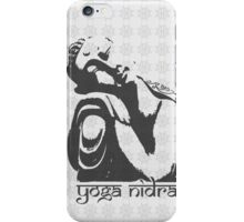 Yoga Nidra - Buddha Graphic iPhone Case/Skin