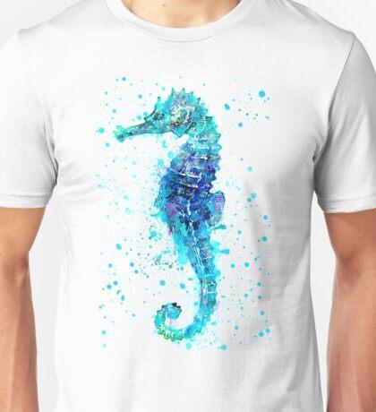 Blue Seahorse Unisex T-Shirt