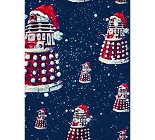 Doctor Who Daleks Christmas Photographic Print