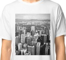 Downtown City Skyline Classic T-Shirt