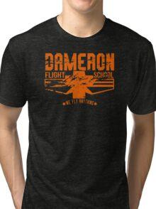 dameron flight school Tri-blend T-Shirt