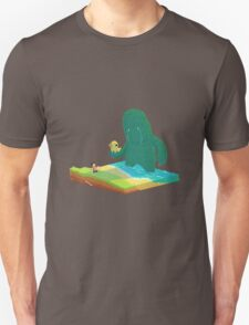 Looking for Friends, Isometric Slice T-Shirt