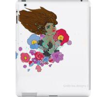 Floral Transformation iPad Case/Skin