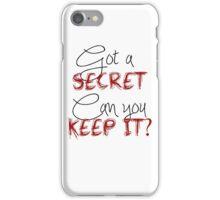 Pretty Little Liars - Got a Secret  iPhone Case/Skin