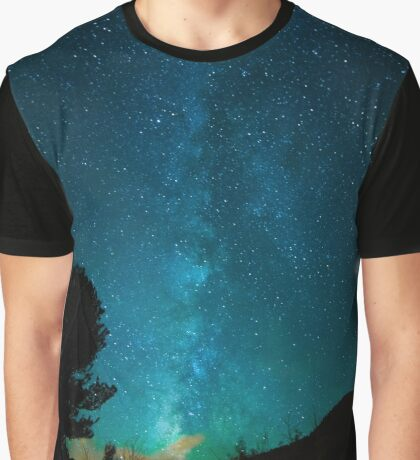 Open Skies Galaxy Graphic T-Shirt