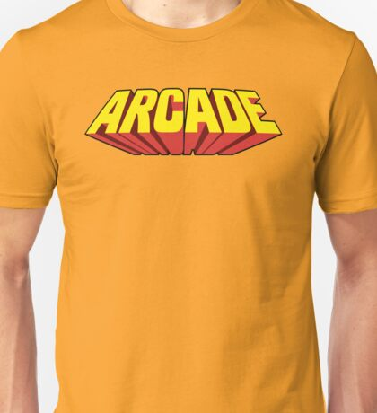 Arcade Yellow Unisex T-Shirt