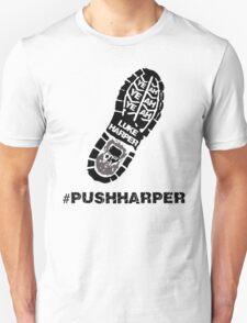 """Luke Harper """" #PushHarper """" Unisex T-Shirt"""