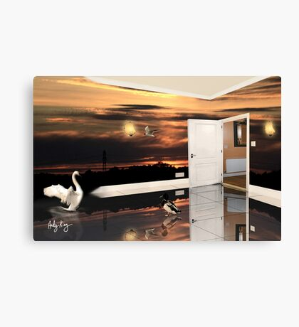 The Sunset Room Canvas Print