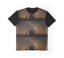 Rocky Galaxy Skies Graphic T-Shirt