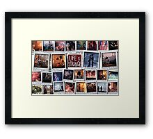 Life is Strange Moments Framed Print