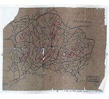 Civil War Maps 2055 Map of Prince Edward County Va Poster