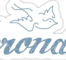 shadowhunter Herondale family Sticker
