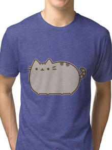 cartoon cat Tri-blend T-Shirt