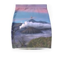 Island Volcanoes Mini Skirt