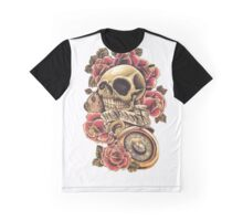 dead head Roses Graphic T-Shirt