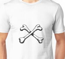 Crossbones illustration Unisex T-Shirt