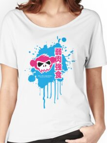 Zombie Monkey Pink Women's Relaxed Fit T-Shirt
