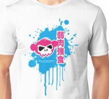 Zombie Monkey Pink Unisex T-Shirt