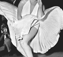 Marilyn Monroe Subway Scene by welovevintage