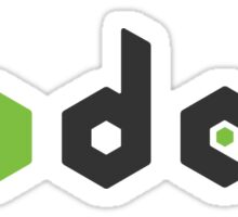 NodeJS 003 clear Sticker
