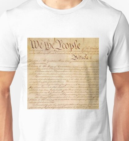 US CONSTITUTION Unisex T-Shirt