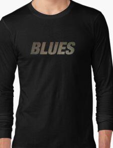 Cool Rusty Blues Long Sleeve T-Shirt