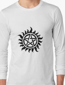 Supernatural Demon Possession Protection [BLACK] Long Sleeve T-Shirt