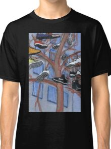 shoes hanging from a tree Classic T-Shirt