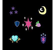 My little Pony - Sparkle Family Cutie Mark Special V2 (Nyx) Photographic Print