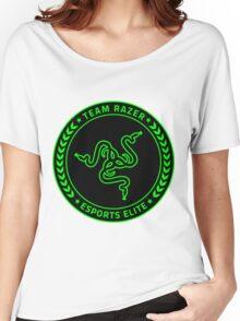 Razer Logo   Team Razer Esports Elite Women's Relaxed Fit T-Shirt