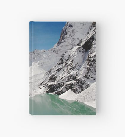 Melting Mountains Hardcover Journal