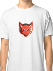 Red Fox Head Front  Classic T-Shirt