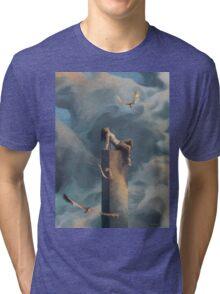 Among Clouds Tri-blend T-Shirt