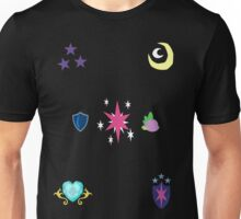 My little Pony - Sparkle Family Cutie Mark Special V2 (Nyx) Unisex T-Shirt