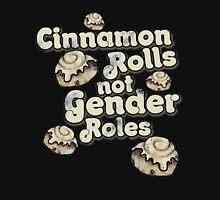 Cinnamon Rolls not gender roles Women's Fitted Scoop T-Shirt