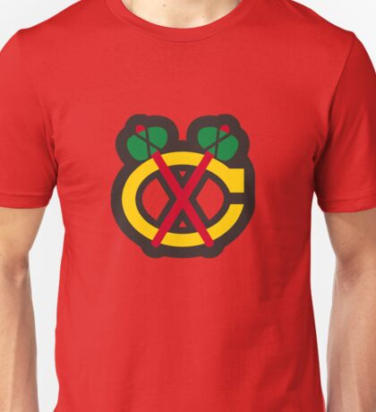 Chicago Blackhawks Tomahawk Logo Unisex T-Shirt