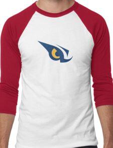 Nashville Predators Predator Eye Alternate Logo Men's Baseball ¾ T-Shirt