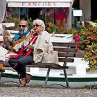 Front Row, Portofino by phil decocco