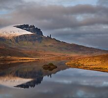 Old Man of Storr reflection.  Trotternish. Isle of Skye. Scotland. by photosecosse /barbara jones