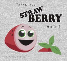 Thank You Strawberry Much! Baby Tee