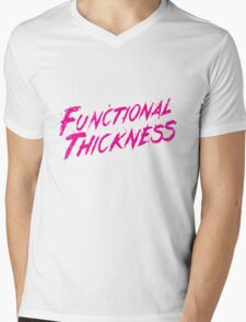 Functional Thickness Mens V-Neck T-Shirt