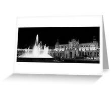 Plaza de Espana Greeting Card