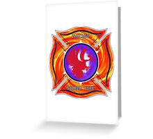 Chicago Sacred Fire Greeting Card