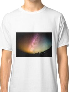 Circular Galaxy of Stars Classic T-Shirt