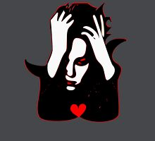 §♥Sexy Romantic Mortally Stunning Vampire Guy Clothing & Stickers♥§ Women's Fitted V-Neck T-Shirt