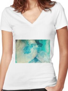 Polar Illusion Women's Fitted V-Neck T-Shirt