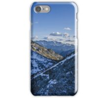 Snowy Mountain River Valley iPhone Case/Skin